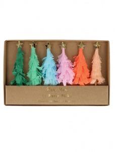 Meri Meri Διακοσμητικά Sticks Φαγητού Χριστουγεννιάτικο Δέντρο