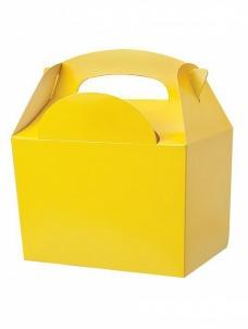 Party box σε κίτρινο χρώμα