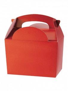 Party box σε κόκκινο χρώμα