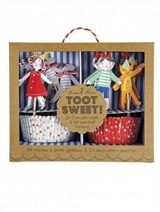 Meri Meri Cupcake kit Toot Sweet