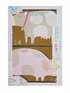 Meri Meri Προσκλητήρια & ευχαρ.κάρτες Happy Little Farm