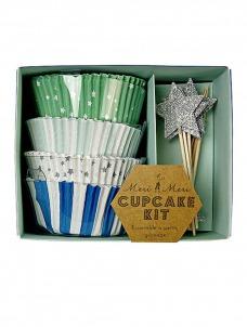 Meri Meri Cupcake kit TS Blue