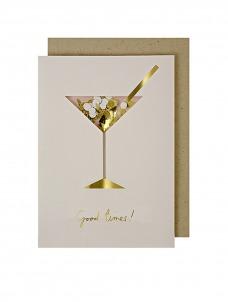 Meri Meri Coctail Confetti Shaker Ευχετήρια Κάρτα
