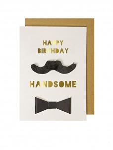 Meri Meri Happy Birthday Handsome Card