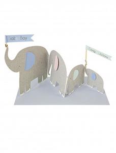 Meri Meri Elephants Card