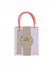 Meri Meri Τσάντες μικρές δώρου pastel & neon 3τμχ.