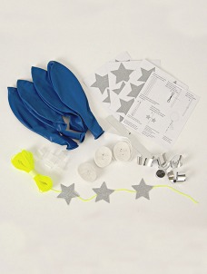 Meri Meri Balloon Kit Blue (8τεμ)