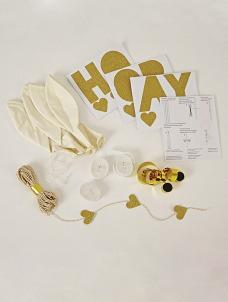 Meri Meri White Balloon Kit (8τεμ)