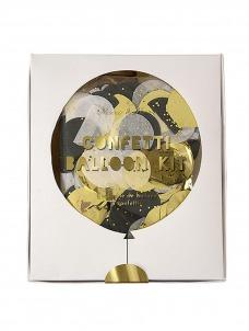 Meri Meri Metallic Confetti Balloon Kit (8τεμ)