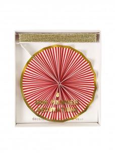 Meri Meri Χριστουγεννιάτικη γιρλάντα Pinwheel